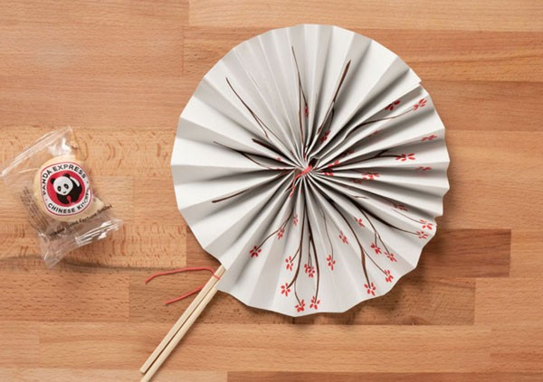 DIY Fans with Chopsticks
