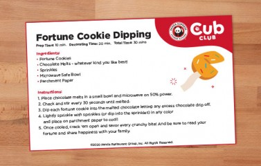 Fortune Cookie Dipping